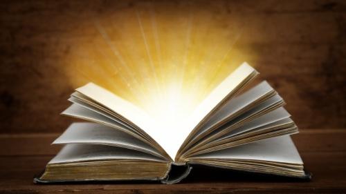 Uma Bíblia aberta