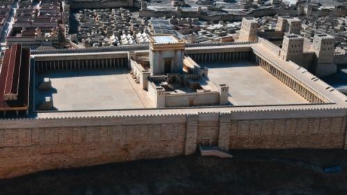 Modelo de Jerusalém no primeiro século.