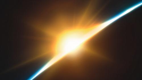 Nascer do sol sobre a Terra.