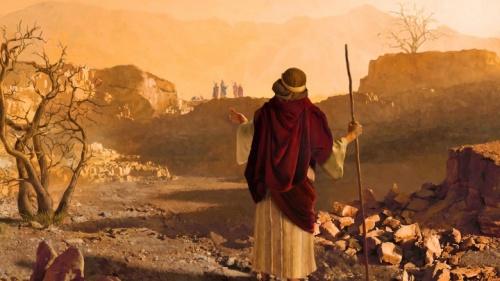 Uma representação artística do Profeta Jeremias.