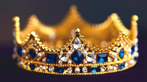 A coroa de um rei.