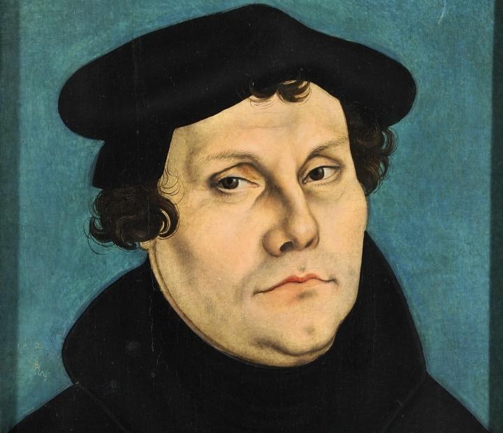 Pintura de Martin Luther