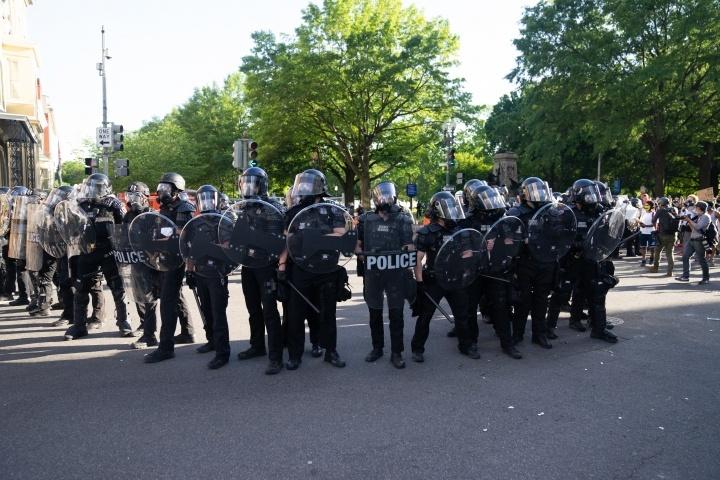 Polícia em Washington DC.
